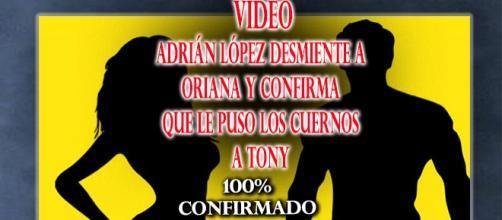 aDRIAN CONFIRMA LOS CUERNOS A TONY