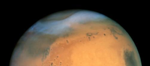Mars from the Hubble Telescope (NASA)