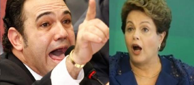 Feliciano faz sérias acusações contra Dilma