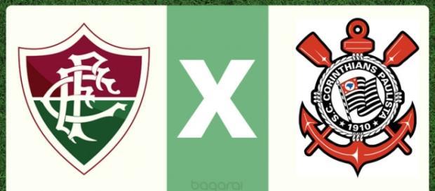 Fluminense e Corinthians, na TV ao vivo e também online