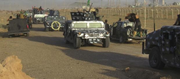 Francotiradores del ISIS tratan de paralizar el avance de las tropas del gobierno iraquí