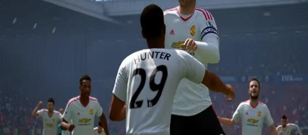 Hunter, a nova estrela do FIFA 17 (Reprodução/EA)