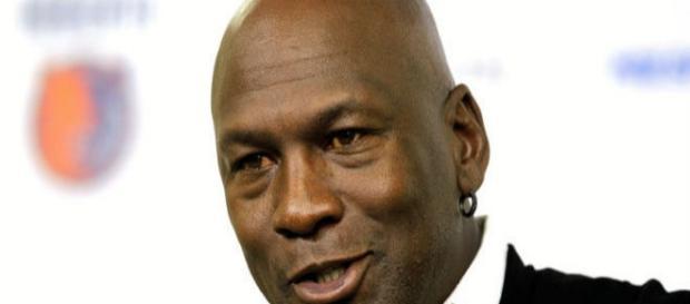 Michael Jordan mítica estrella de la NBA