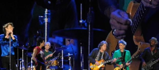 The Rolling Stones performing in Hyde Park (Wikipedia)