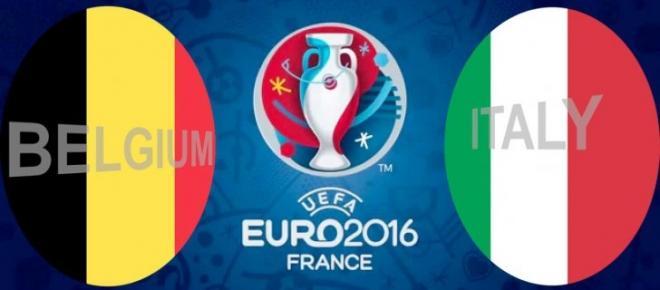 EURO 2016: Włosi wygrali z Belgią 2:0