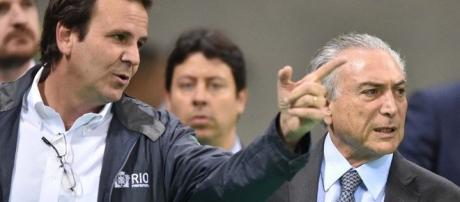 Michel Temer visitou Parque Olímpico nessa terça-feira