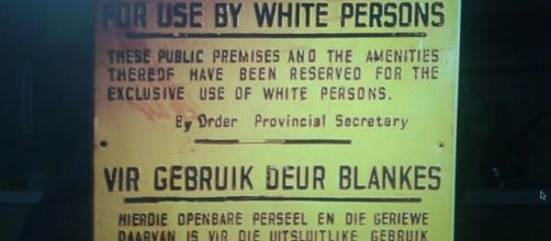 Cartello razziale dell'Apartheid -Di Dewet-