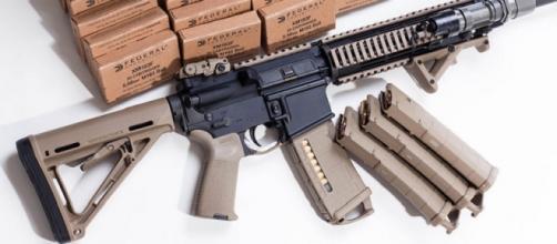 Una foto del arma AR-15 disponible en internet