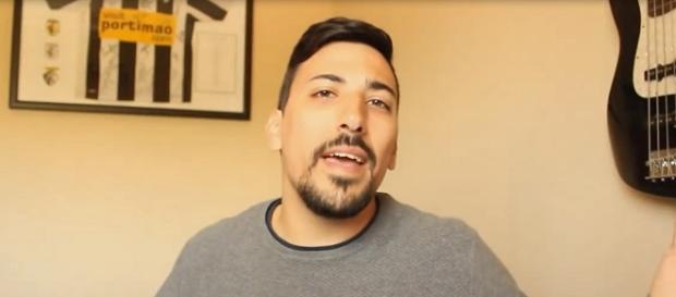 """Dário Guerreiro é conhecido como """"Môce dum Cabréste"""" no YouTube."""