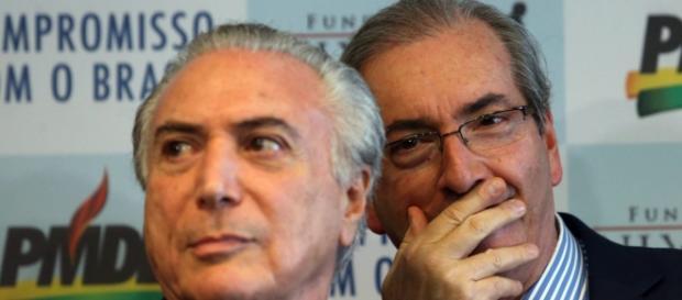 Eduardo Cunha e Michel Temer: aliados ou separados?