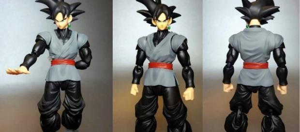 Figura flexible Goku Oscuro DBS.