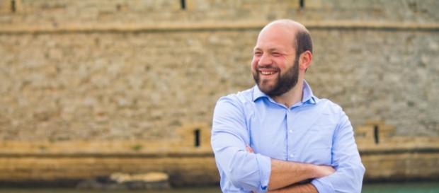Il neo eletto sindaco di Gallipoli Stefano Minerva (PD).