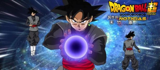 Imagen de la tecnica de Black en el opening