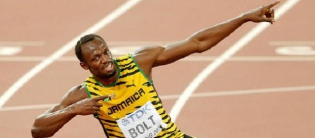 Usain Bolt, o maior fenômeno do atletismo de todos os tempos.