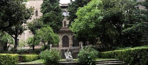 Jardines de la casa Muñoz Ramonet de Barcelona