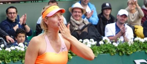 Roland Garros 2014 - Maria Sharapova / photo by Cyril Attias, via Flickr cc.