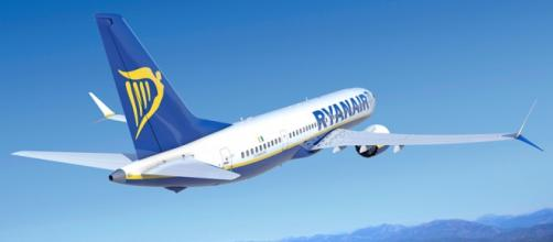 Un aereo della compagnia irlandese Ryanair