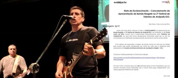Banda Resgate cancelou apresentação em festival (Foto: Divulgação)