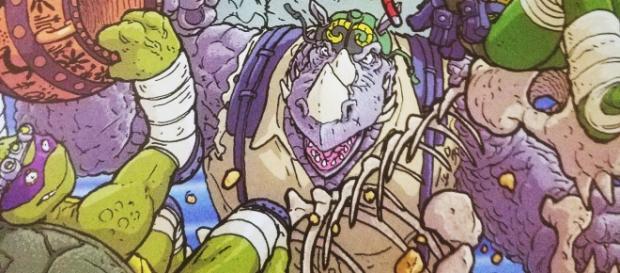 Bebop, Rocksteady and all of the Teenage Mutant Ninja Turtles (Photo via Flickr/OTheAudacity)
