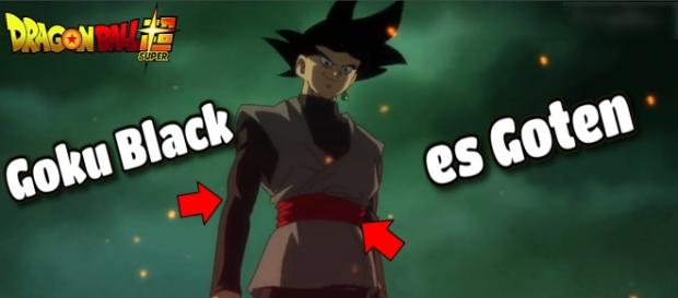 Black Goku es en Goten del futuro que busca venganza.