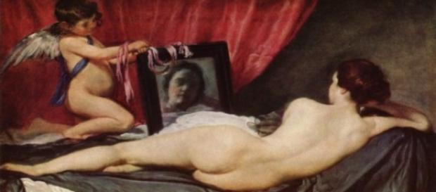 """Velasquez's """"The Rokeby Venus"""" Creative Commons"""