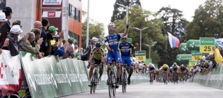 El argentino Maximiliano Richeze, protagonista en la Vuelta a Suiza