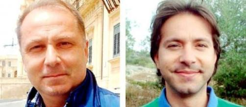 I candidati a sindaco Corrado Bonfanti e Corrado Figura