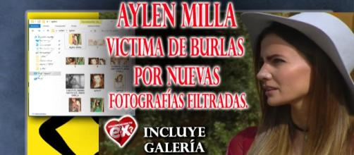 Se filtran nuevas imagenes de Aylén Milla