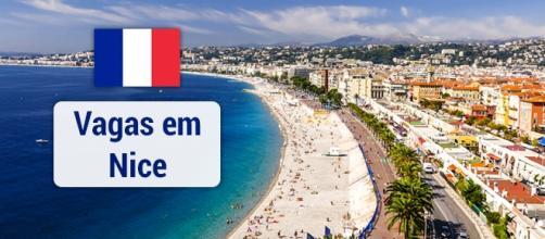 Vagas em Nice na França. Foto: Reprodução Maison-cresci