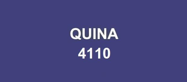 Bolada milionária sorteada no concurso Quina 4110