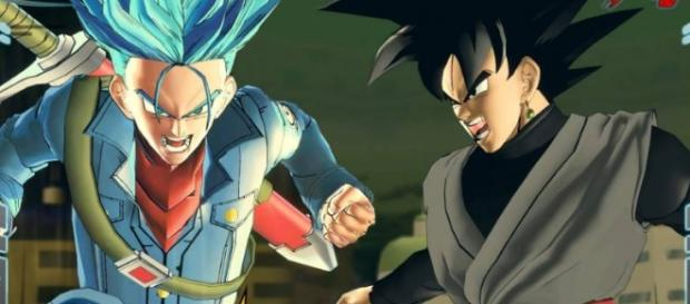 DBX 2 Goku Black y Mirai Trunks.
