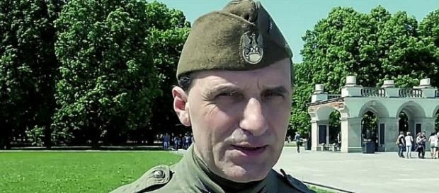 """Der neue Anführer: """"Der schlimmste Feind Polens war Großbritannien""""."""