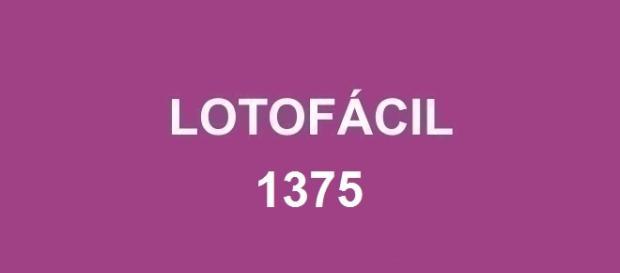 Resultado da Lotofácil 1375; Divulgação das dezenas sorteadas nessa quarta-feira