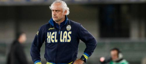 L'ex tecnico dell'Hellas Verona, Andrea Mandorlini.