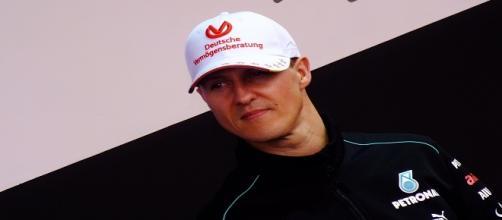 Michael Schumacher at Shanghai back in 2012/ Photo: emperornie (Flickr) CC BY 2.0