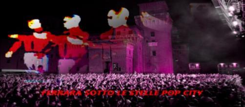 Musica elettronica a Ferrara sotto le stelle, città del pop.