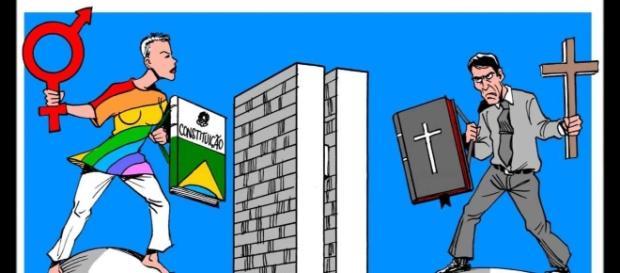 Discursos de religiosos e conservadores é um dos principais a deslegitimar a homofobia e a necessidade de sua criminalização.