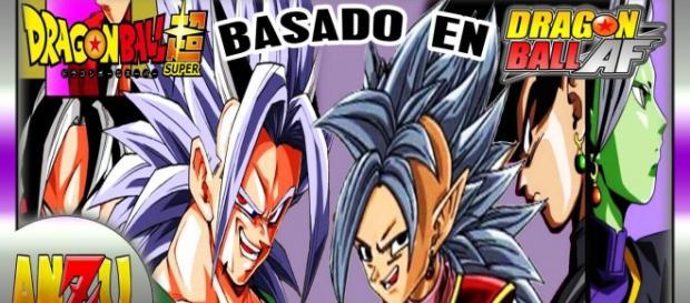 Dragon Ball Super y Dragon Ball AF