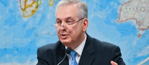 Embaixador brasileiro Luiz Alberto Figueiredo Machado