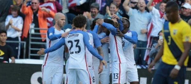 Estados Unidos se clasificó para las semifinales de la Copa América Centenario al vencer a Ecuador por 2 a 1 en Seattle