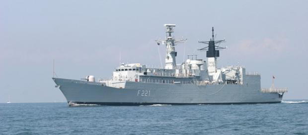 """Fregata """"Regele Ferdinand"""" aflată în serviciul Marinei Militare Române"""