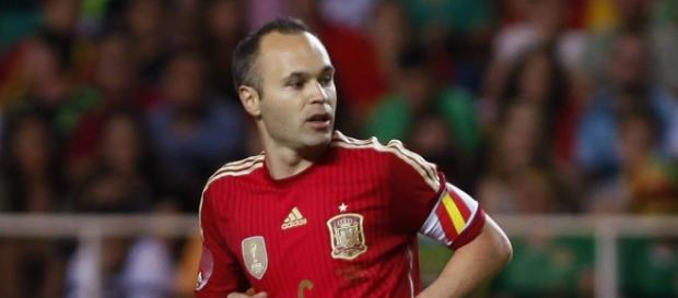 Iniesta fue el MVP en el España-Turquía