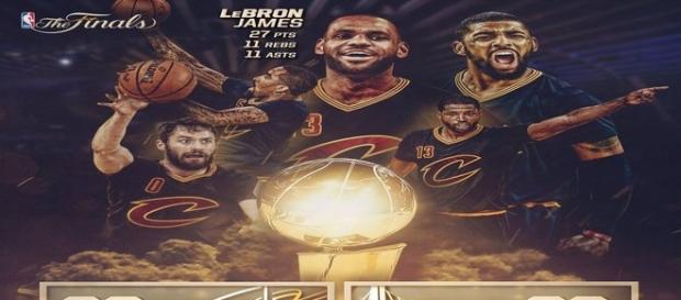 Los Cavaliers ganan la NBA 2015/2016