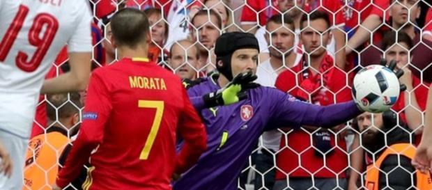 Morata podría ser uno de los cambios que introduzca Del Bosque ante Turquía