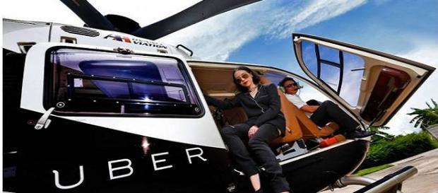 Uber já atua no ramo aéreo em outros países