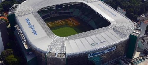 O Allianz Parque deve estar novamente lotado para Palmeiras x Santa Cruz