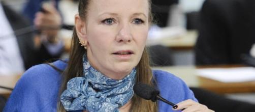 Senadora do PCdoB Vanessa Grazziotin