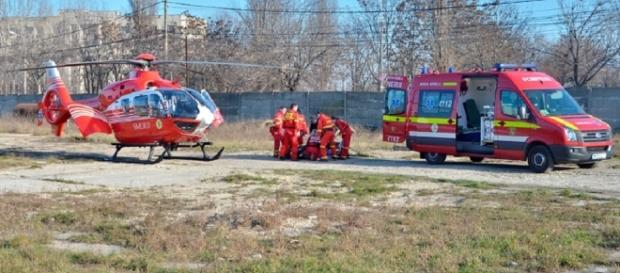 Elicopterele SMURD EC-135 au rămas la sol după accidentul din Moldova