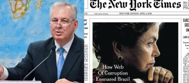 Embaixador critica jornal americano