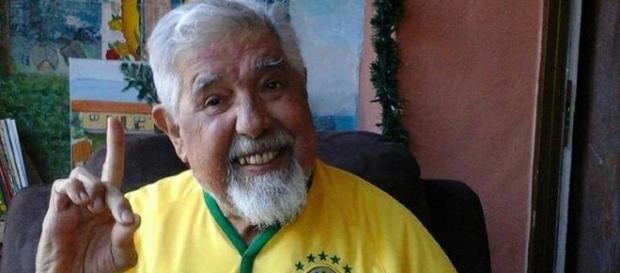 Rubén sempre demonstrou carinho pelo Brasil (Foto: Reprodução)